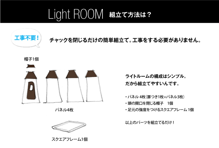 簡易防音室 Light ROOM ライトルーム