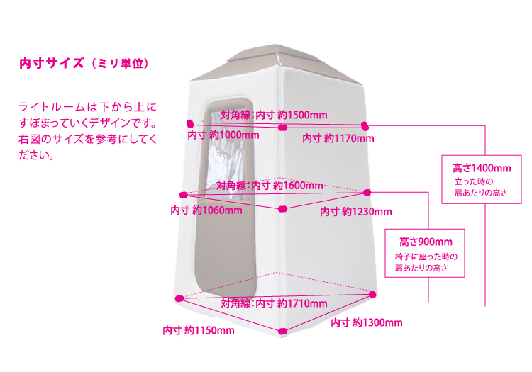 簡易吸音ルーム Light ROOM ライトルーム